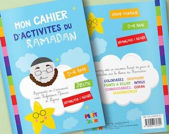 Ramadan (2-4 years) activity book | Kariizmaa Design