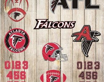 Atlanta Falcons Svg/ Atlanta Falcons Cut File/ Atlanta Falcons Svg Cut Files/ Atlanta Falcons Clipart/ Atlanta Falcons Clipart