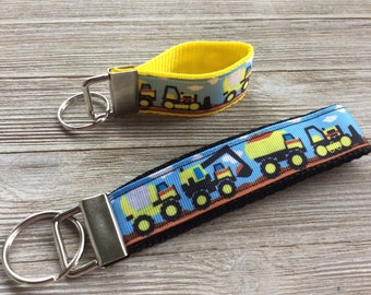 Construction Key Fob Wristlet and Mini