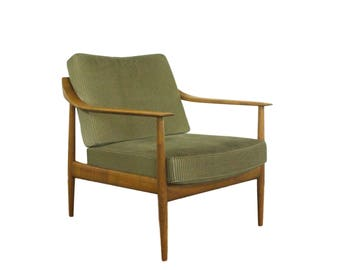 Lounge Chair have Wilhelm Knoll for Knoll Antimott in Cherry. 60s