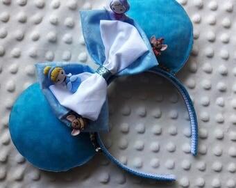Cinderella inspired Disney ears