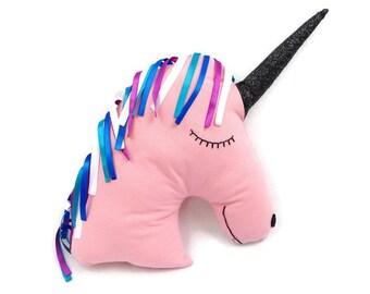 Peluche unicorno etsy for Decorazione unicorno