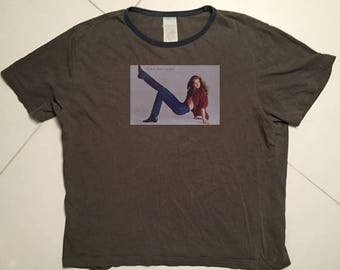 LAST DAY 35% OFF Calvin Klein T Shirt  Brooke Shields vintage Made in italy - Size men M
