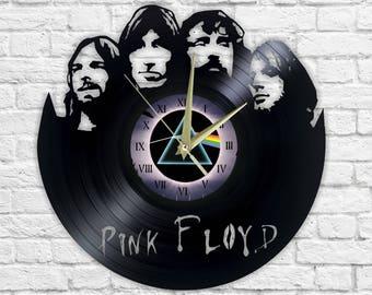 Pink Floyd - Vinyl - Wall clock - Music