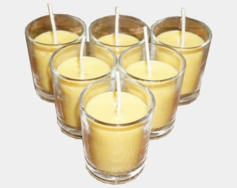Native Candle Beeswax + Coconut Votives 6-Pack