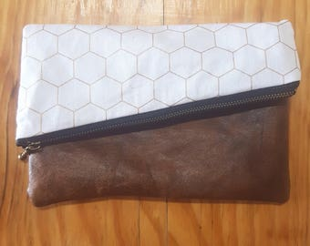 Small Fold Over Clutch