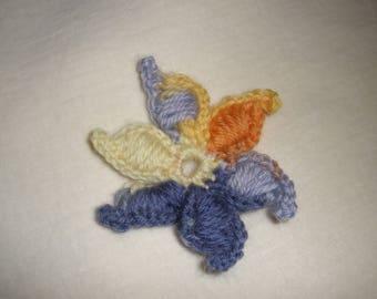 Original crochet flower