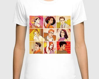 Riverdale Comics Art Men's Women's T-shirt