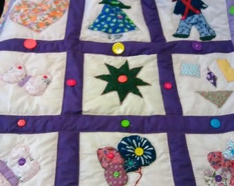 Crib Toddler quilts can be customized
