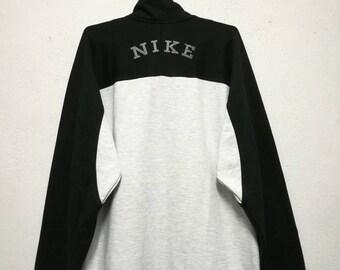 Vintage Nike 2-Tone Small Logo Sweater Sweatshirt