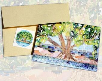 Enduring Tree Note Card Set (8)