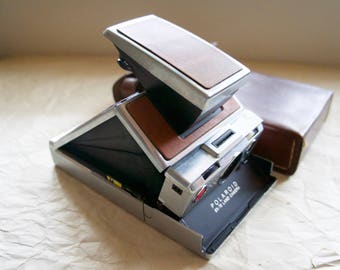 Vintage Film Camera Polaroid SX-70 Land Camera | Photographer Gift | Hipster Gift | Camera Collector Gift