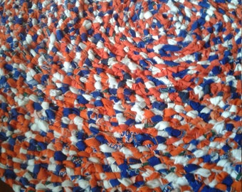 Custom-made rag rugs