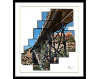 Bridge and Rock