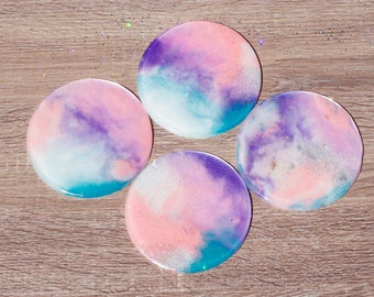 Supernova Girl Coaster set of 4