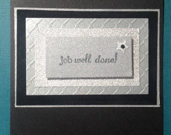 Greeting Card - Job Well Done