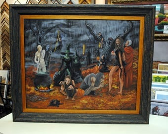 Witches, Halloween, Kathy Chism