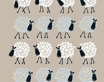 Blue Rinse Sheep Card
