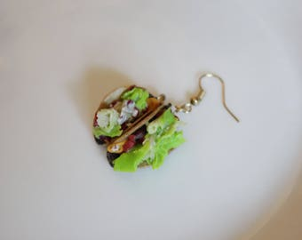 Fast Food Earring (Taco)