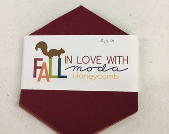 Fall in Love With Moda Honeycomb