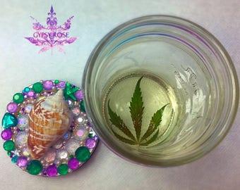 Large Mermaid Stash Jar