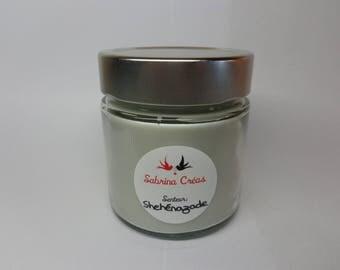 Vegetable soy wax scented candle Scheherazade.