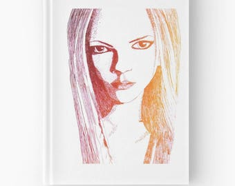 The Mysterious Stare Hardcover Journal