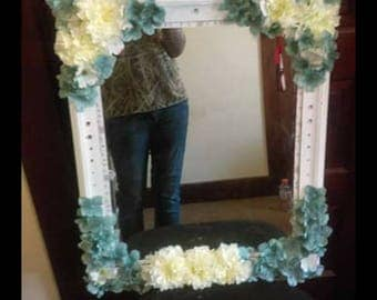 Gorgeous handmade vanity mirror
