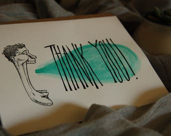Thank You Card - Funny Thank You Card
