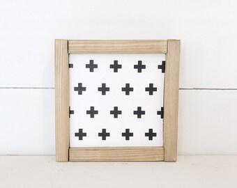 Mini Swiss Cross | Farmhouse Sign
