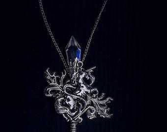 Epic Unicorn Long Key Necklace