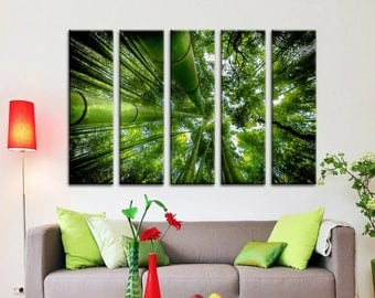 Charmant Bamboo Wall Art Bamboo Decor Bamboo Wall Art Canvas Print Wall Decor Canvas Wall  Art Large