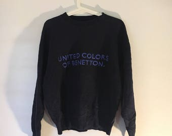 RARE !! Vintage United Colors Of Benetton Sweatshirts