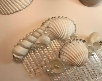 Shell hair combs