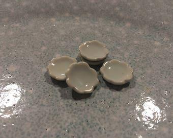 MINIATURE ceramic plates (set of 5)