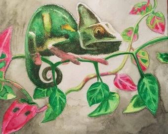 "Custom 6""x6"" Watercolor Painting"