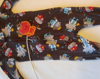 Size 12 mos, Gently used, Adapted for feeding tube, baby sleeper