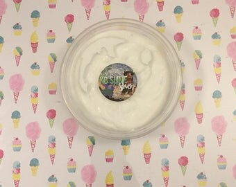 Ice Cream with Rainbow Sprinkles slime (8 oz) (made with daiso clay)