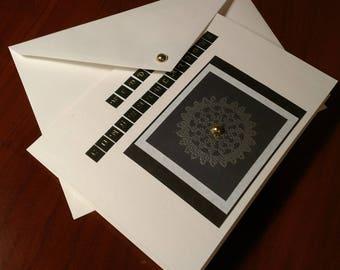 "Handmade ""Wedding Congratulations"" Card"