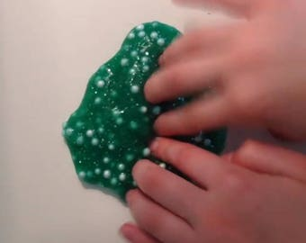 Green monster floam