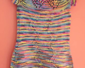 Lovely Handknit Soft Wool Dress