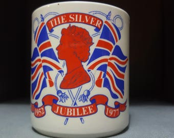 Silver Jubilee Mug