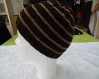 Bonnet child round striped sailor way