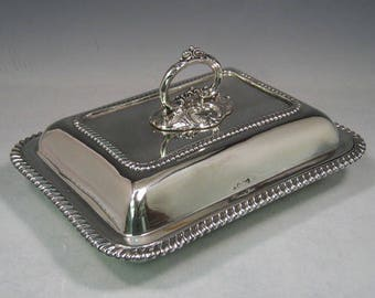 Sterling Silver Serving Dish with Cover