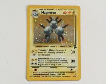 Magneton Holo Pokemon Trading Card
