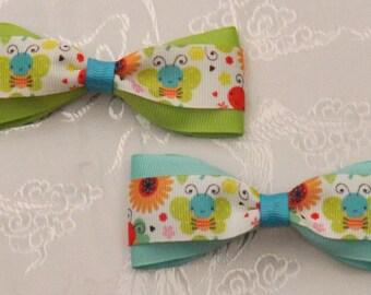 Summer Fun 4 inch bow set