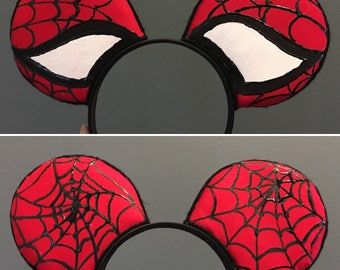 Spiderman Themed Ears