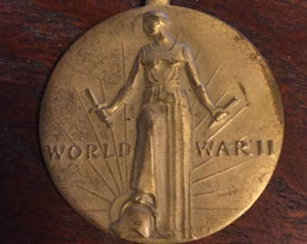 1941-1945 World War II Medal - No Ribbon