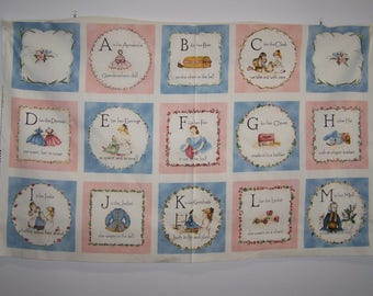 A Is For Annabelle With Coordinating Fabric