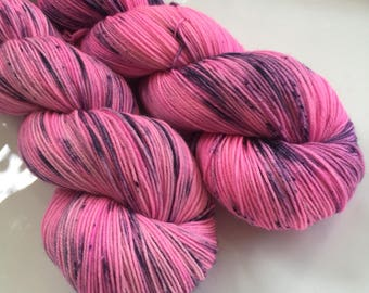Hand Dyed Yarn - Preppy - Moor - 100% superwash merino wool - fingering weight / sock yarn
